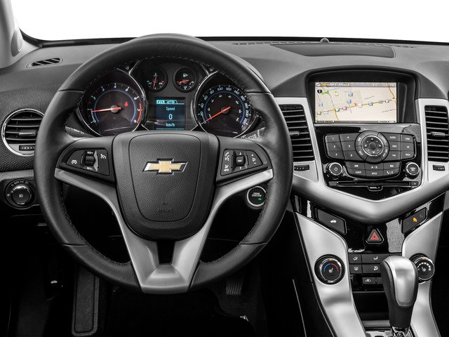 2016 Chevrolet Cruze Limited Prices and Values Sedan 4D 2LT I4 Turbo driver's dashboard
