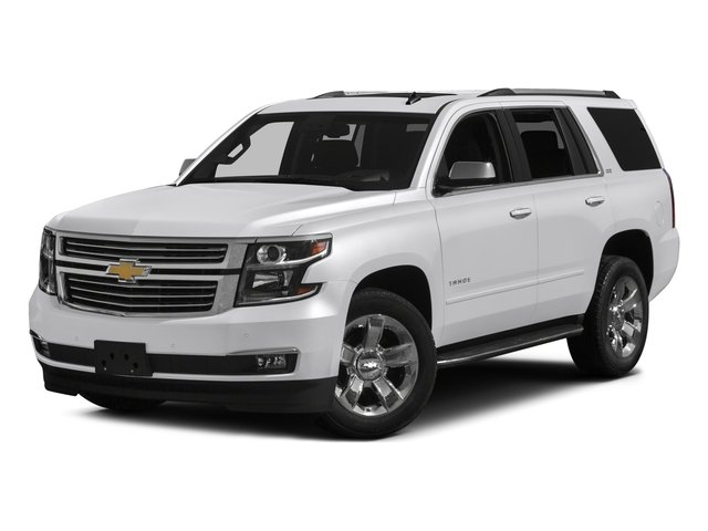 2016 Chevrolet Tahoe Pictures Tahoe Utility 4D LTZ 4WD V8 photos side front view