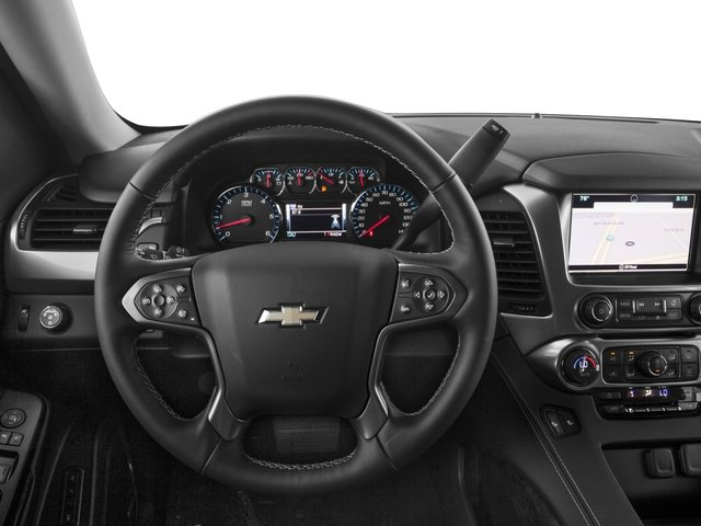 2016 Chevrolet Tahoe Prices and Values Utility 4D Fleet 2WD V8 driver's dashboard