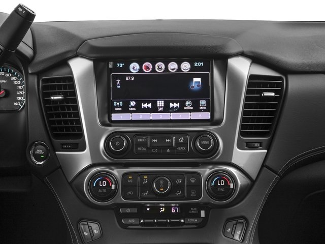 2016 Chevrolet Tahoe Prices and Values Utility 4D Fleet 2WD V8 stereo system