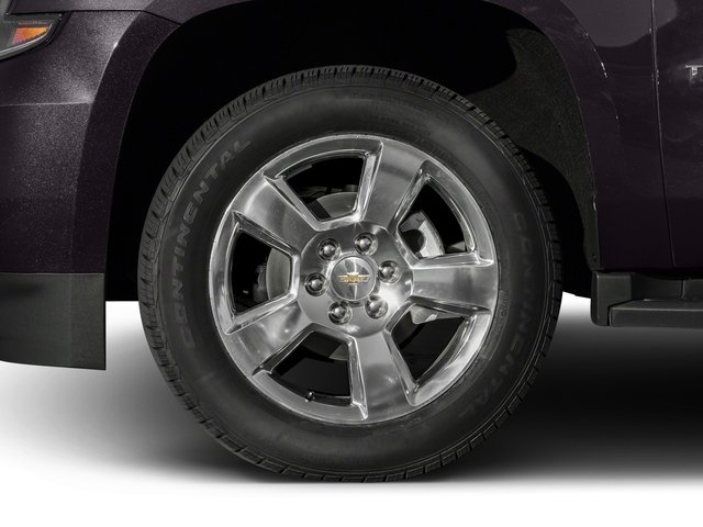 2016 Chevrolet Tahoe Pictures Tahoe Utility 4D Police 2WD V8 photos wheel