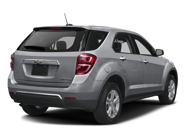 2016 Chevrolet Equinox Pictures Equinox Utility 4D LS AWD photos side rear view