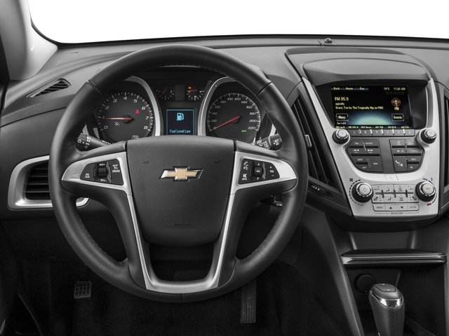 2016 Chevrolet Equinox Prices and Values Utility 4D LT 2WD driver's dashboard