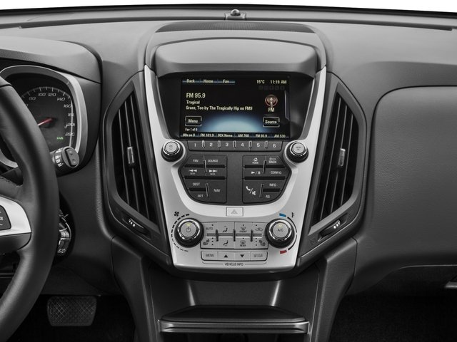 2016 Chevrolet Equinox Prices and Values Utility 4D LT 2WD stereo system