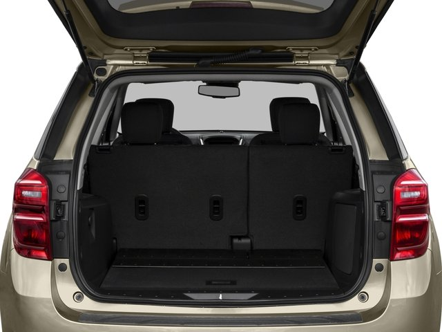 2016 Chevrolet Equinox Prices and Values Utility 4D LT 2WD open trunk