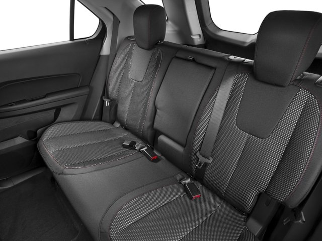 2016 Chevrolet Equinox Prices and Values Utility 4D LT 2WD backseat interior