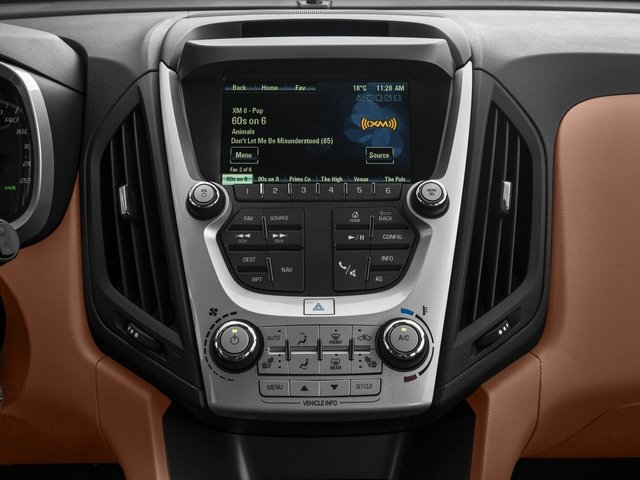 2016 Chevrolet Equinox Pictures Equinox Utility 4D LTZ 2WD photos stereo system