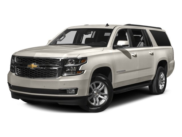 2016 Chevrolet Suburban Prices and Values Utility 4D LS 4WD V8 side front view