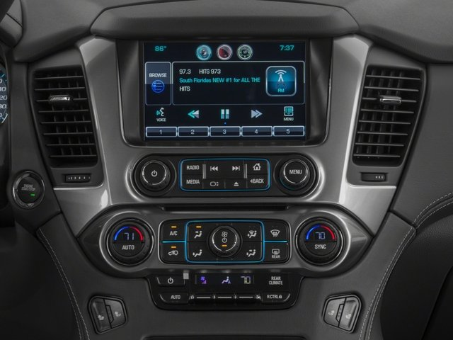 2016 Chevrolet Suburban Prices and Values Utility 4D LS 4WD V8 stereo system
