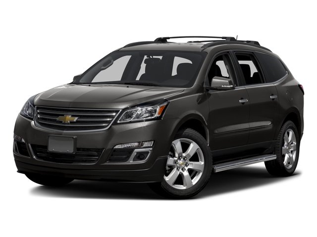 2016 Chevrolet Traverse Pictures Traverse Utility 4D LT AWD V6 photos side front view