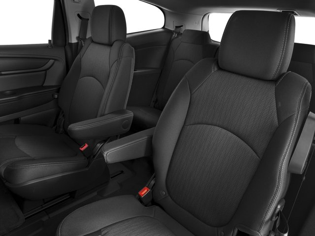 2016 Chevrolet Traverse Prices and Values Utility 4D LT AWD V6 backseat interior