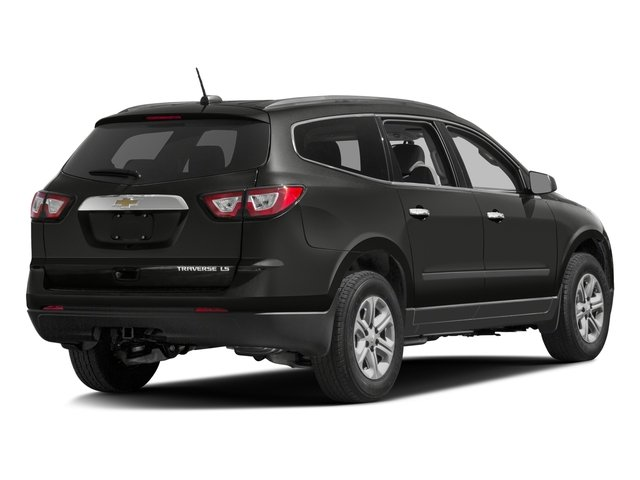 2016 Chevrolet Traverse Prices and Values Utility 4D LS 2WD V6 side rear view