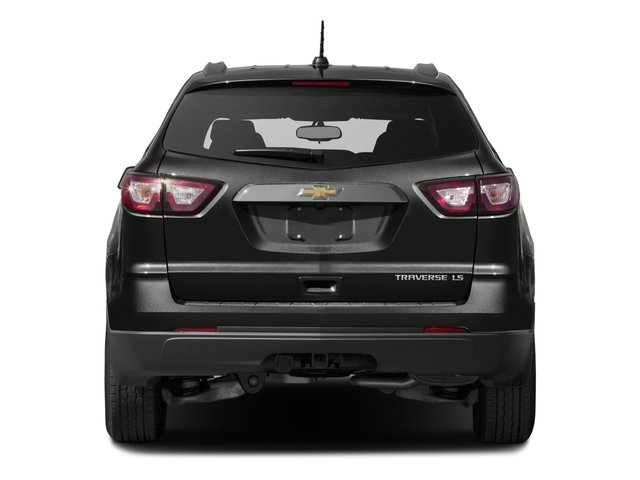 2016 Chevrolet Traverse Prices and Values Utility 4D LS 2WD V6 rear view