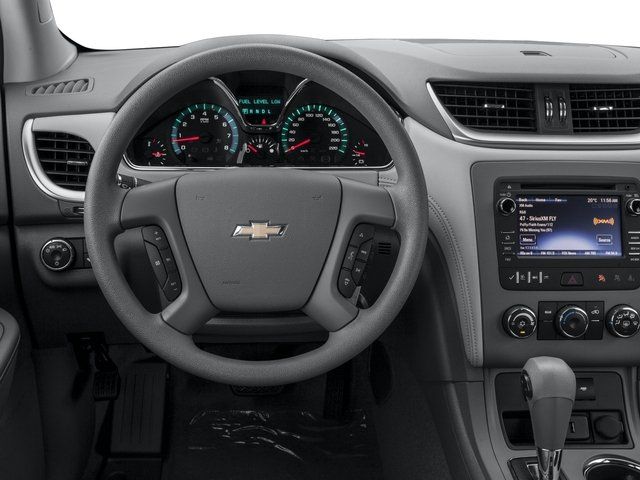2016 Chevrolet Traverse Prices and Values Utility 4D LS 2WD V6 driver's dashboard