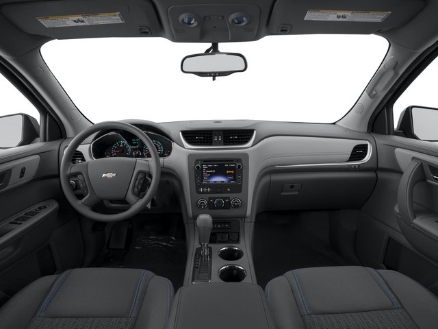 2016 Chevrolet Traverse Prices and Values Utility 4D LS 2WD V6 full dashboard