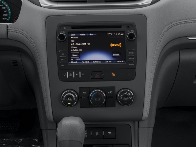 2016 Chevrolet Traverse Prices and Values Utility 4D LS 2WD V6 stereo system