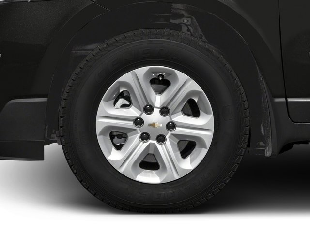 2016 Chevrolet Traverse Prices and Values Utility 4D LS 2WD V6 wheel