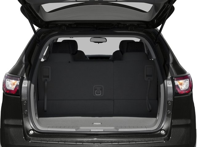 2016 Chevrolet Traverse Prices and Values Utility 4D LS 2WD V6 open trunk