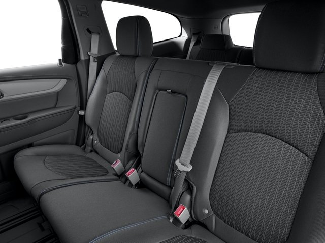 2016 Chevrolet Traverse Prices and Values Utility 4D LS 2WD V6 backseat interior