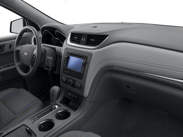 2016 Chevrolet Traverse Prices and Values Utility 4D LS 2WD V6 passenger's dashboard