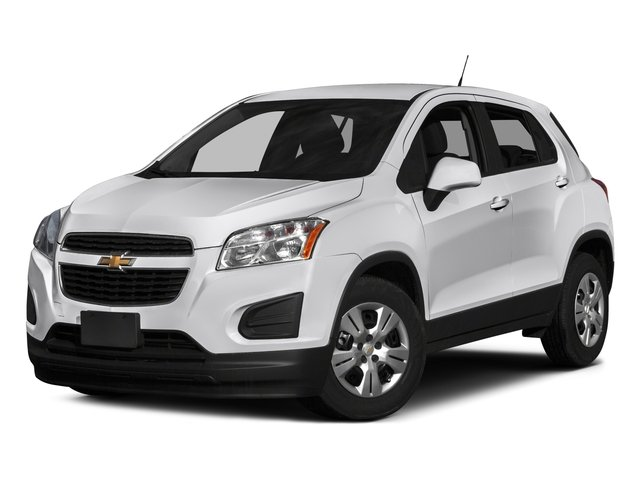2016 Chevrolet Trax Prices and Values Utility 4D LS Fleet AWD I4 Turbo side front view