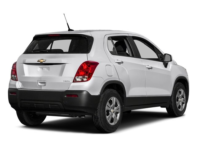 2016 Chevrolet Trax Pictures Trax Utility 4D LS AWD I4 Turbo photos side rear view
