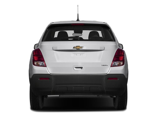 2016 Chevrolet Trax Prices and Values Utility 4D LS Fleet AWD I4 Turbo rear view