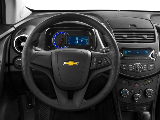 2016 Chevrolet Trax Prices and Values Utility 4D LS Fleet AWD I4 Turbo driver's dashboard