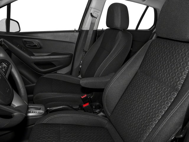 2016 Chevrolet Trax Prices and Values Utility 4D LS Fleet AWD I4 Turbo front seat interior