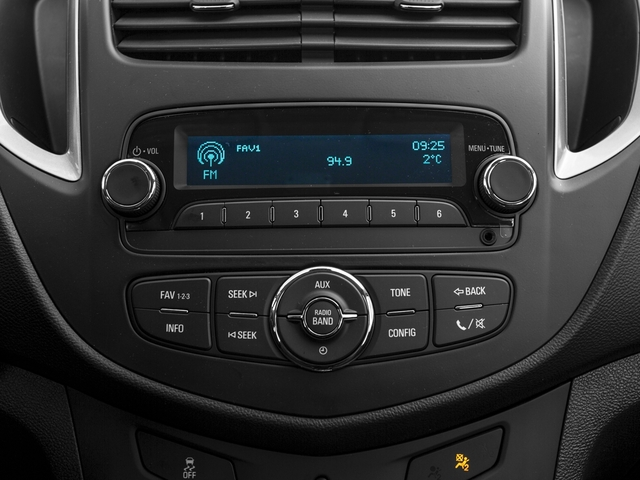 2016 Chevrolet Trax Prices and Values Utility 4D LS Fleet AWD I4 Turbo stereo system
