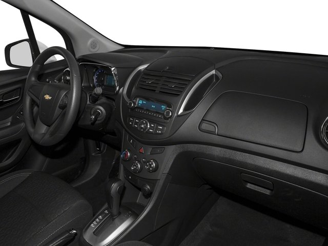 2016 Chevrolet Trax Prices and Values Utility 4D LS Fleet AWD I4 Turbo passenger's dashboard