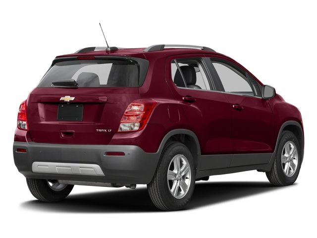 2016 Chevrolet Trax Prices and Values Utility 4D LT 2WD I4 Turbo side rear view