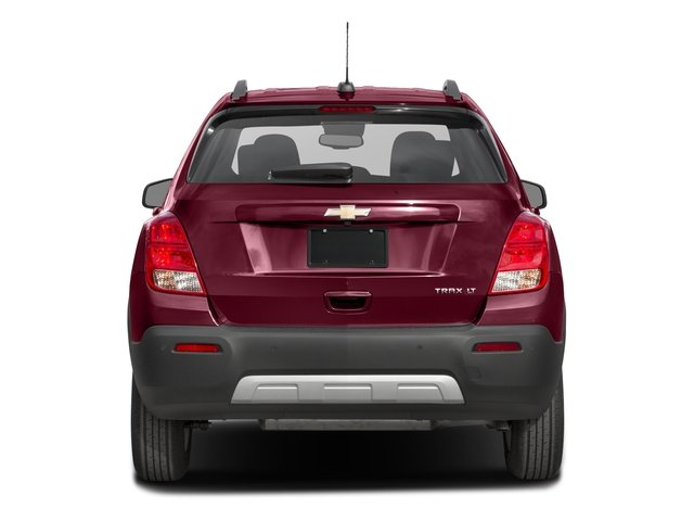 2016 Chevrolet Trax Prices and Values Utility 4D LT 2WD I4 Turbo rear view