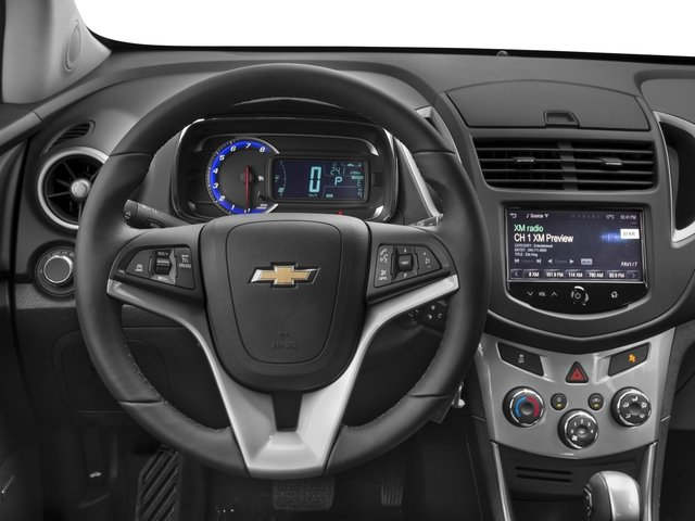 2016 Chevrolet Trax Prices and Values Utility 4D LT 2WD I4 Turbo driver's dashboard
