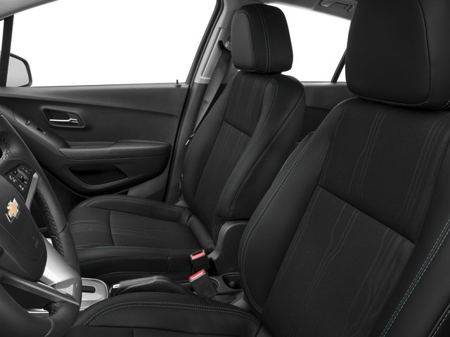 2016 Chevrolet Trax Prices and Values Utility 4D LT AWD I4 Turbo front seat interior