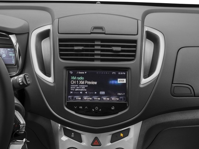 2016 Chevrolet Trax Prices and Values Utility 4D LT 2WD I4 Turbo stereo system
