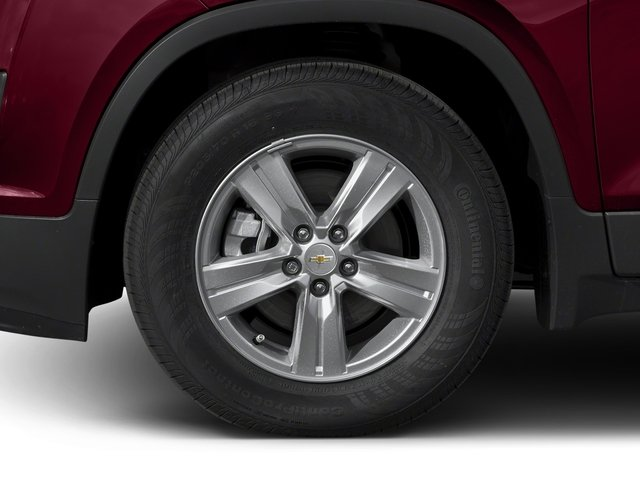 2016 Chevrolet Trax Prices and Values Utility 4D LT AWD I4 Turbo wheel