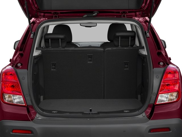 2016 Chevrolet Trax Prices and Values Utility 4D LT AWD I4 Turbo open trunk