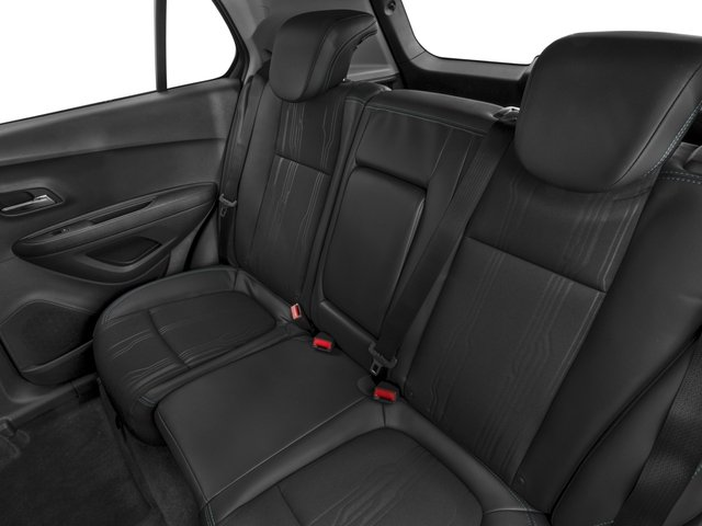 2016 Chevrolet Trax Prices and Values Utility 4D LT AWD I4 Turbo backseat interior