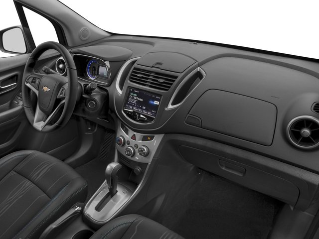 2016 Chevrolet Trax Prices and Values Utility 4D LT 2WD I4 Turbo passenger's dashboard