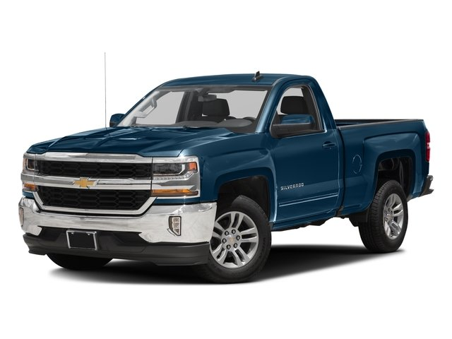 2016 Chevrolet Silverado 1500 Prices and Values Regular Cab LT 4WD side front view