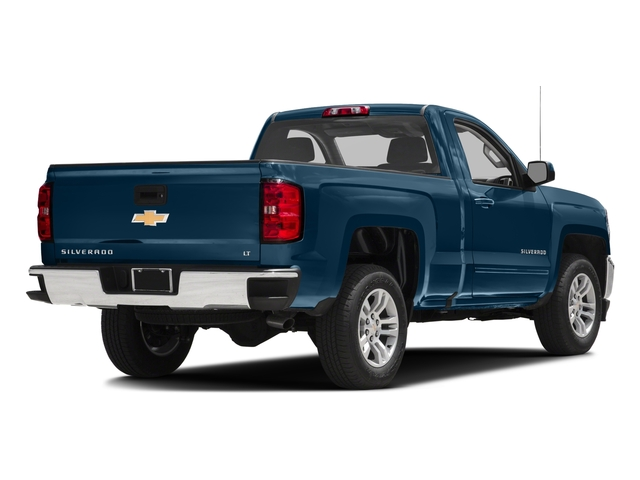 2016 Chevrolet Silverado 1500 Prices and Values Regular Cab LT 4WD side rear view