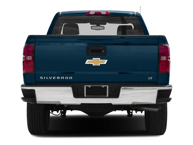 2016 Chevrolet Silverado 1500 Prices and Values Regular Cab LT 4WD rear view