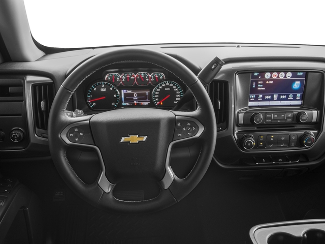 2016 Chevrolet Silverado 1500 Prices and Values Regular Cab LT 4WD driver's dashboard