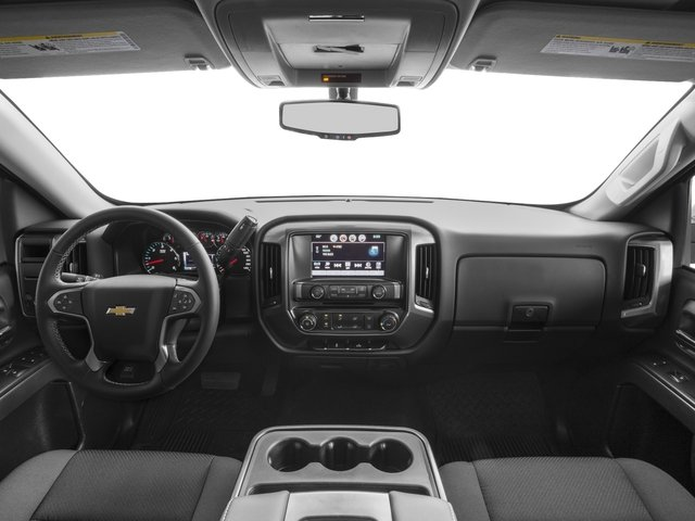 2016 Chevrolet Silverado 1500 Prices and Values Regular Cab LT 4WD full dashboard