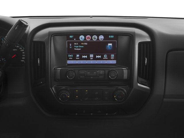 2016 Chevrolet Silverado 1500 Prices and Values Regular Cab LT 4WD stereo system