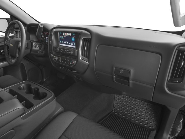 2016 Chevrolet Silverado 1500 Prices and Values Regular Cab LT 4WD passenger's dashboard