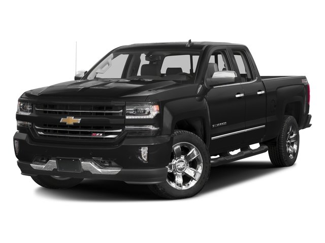 2016 Chevrolet Silverado 1500 Pictures Silverado 1500 Extended Cab LTZ 2WD photos side front view