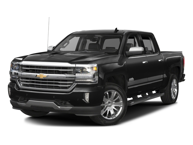 2016 Chevrolet Silverado 1500 Pictures Silverado 1500 Crew Cab High Country 2WD photos side front view