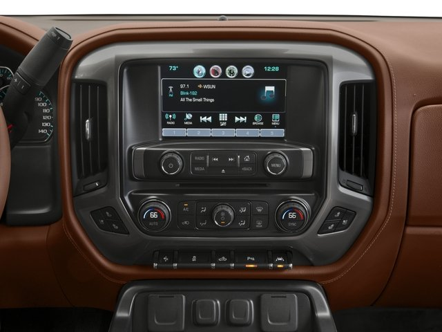 2016 Chevrolet Silverado 1500 Pictures Silverado 1500 Crew Cab High Country 2WD photos stereo system